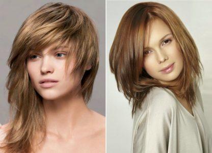 модные прически женские на средние волосы фото женские