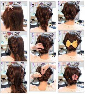 быстрые и легкие прически на длинные волосы