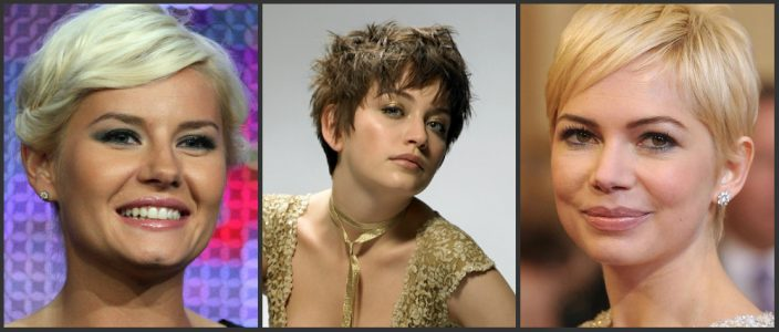 причёски на короткие волосы для женщин 40 лет