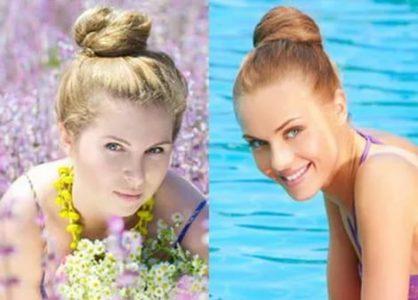 пляжные прически на средние волосы