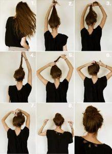 красивые прически быстро и легко на длинные волосы