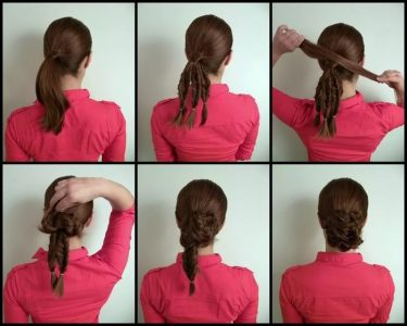 прически на средние волосы (фото) с челкой