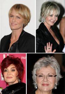 прически на короткие волосы для женщин 50 лет