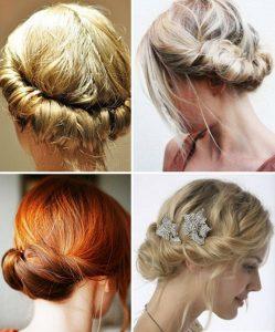 модная укладка на средние волосы фото