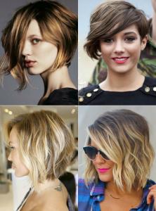 окрашивание волос 2017 фото - новинки на короткие волосы для блондинок, брюнеток