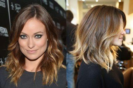 окрашивание на средние волосы 2017, женские фото