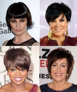 стильные женские стрижки на короткие волосы для женщин 50 лет