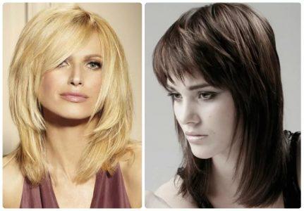 стрижки придающие объем на средние волосы (фото)