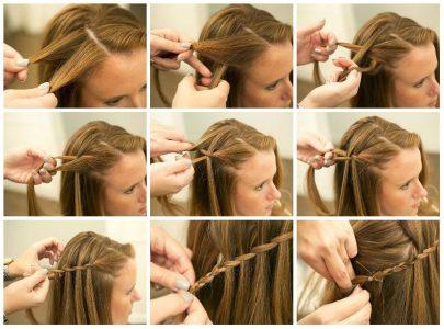 лёгкие причёски для девочек в школу за 5 минут (фото)