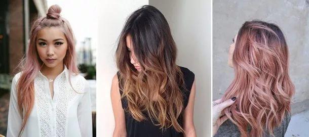 модная покраска волос 2017 на длинные волосы (фото)