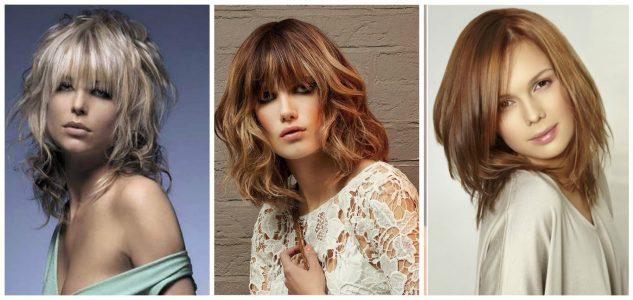 стильные и модные стрижки 2017 на средние волосы (фото)