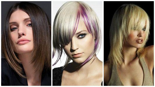 модные и стильные стрижки 2017 на средние волосы
