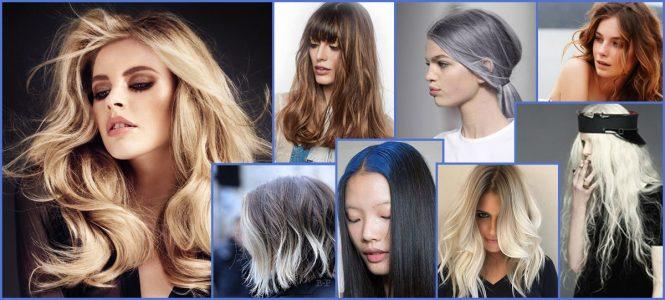 окраска волос модные тенденции 2017 (фото)
