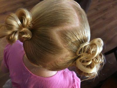 причёски для девочек в садик на каждый день (фото)