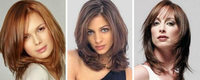 стрижка итальянка (фото), на средние волосы