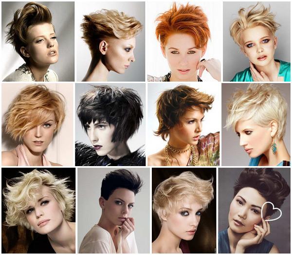 Укладки на короткие волосы, тенденции на 2017 (фото)