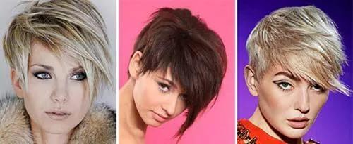 стрижка пикси на средние волосы 2017