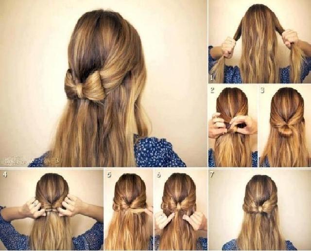 лёгкие причёски на длинные волосы своими руками в домашних условиях