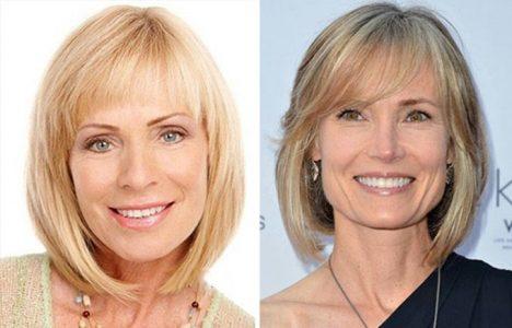 женские стрижки на короткие волосы для женщин 50 лет (фото)