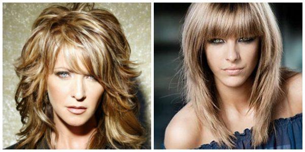 стрижки на средние волосы придающие объем