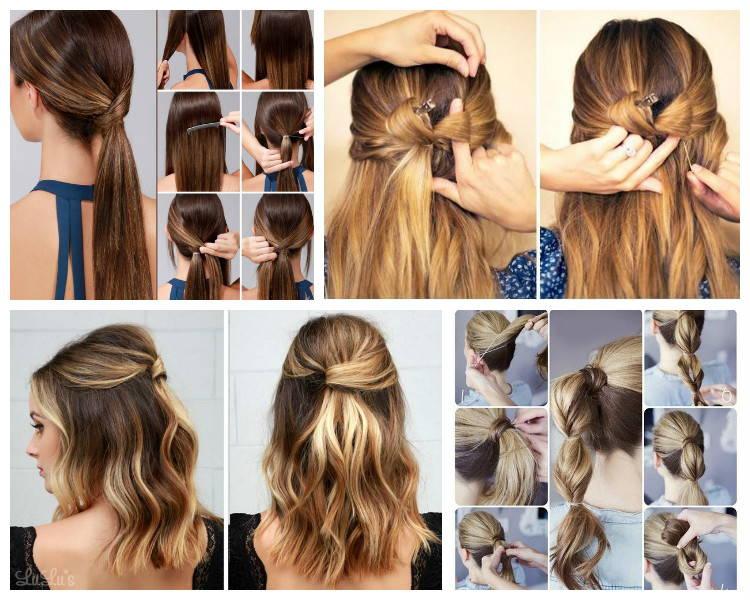 Причёски для девочек в школу за 10 минут