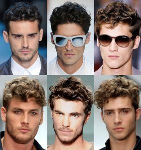 стрижки мужские на кудрявые волосы 2017