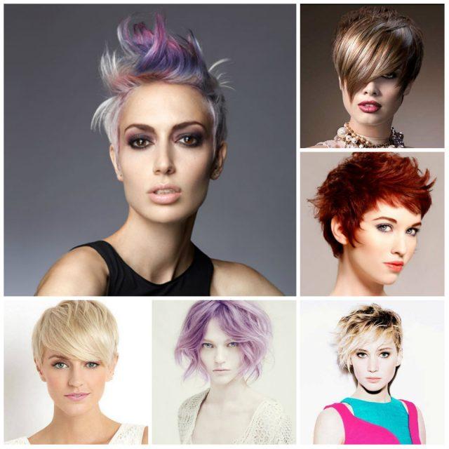 Окрашивание волос 2017 фото - новинки на короткие волосы