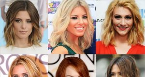 Стильные стрижки, модные прически 2017 женские на средние волосы (фото)