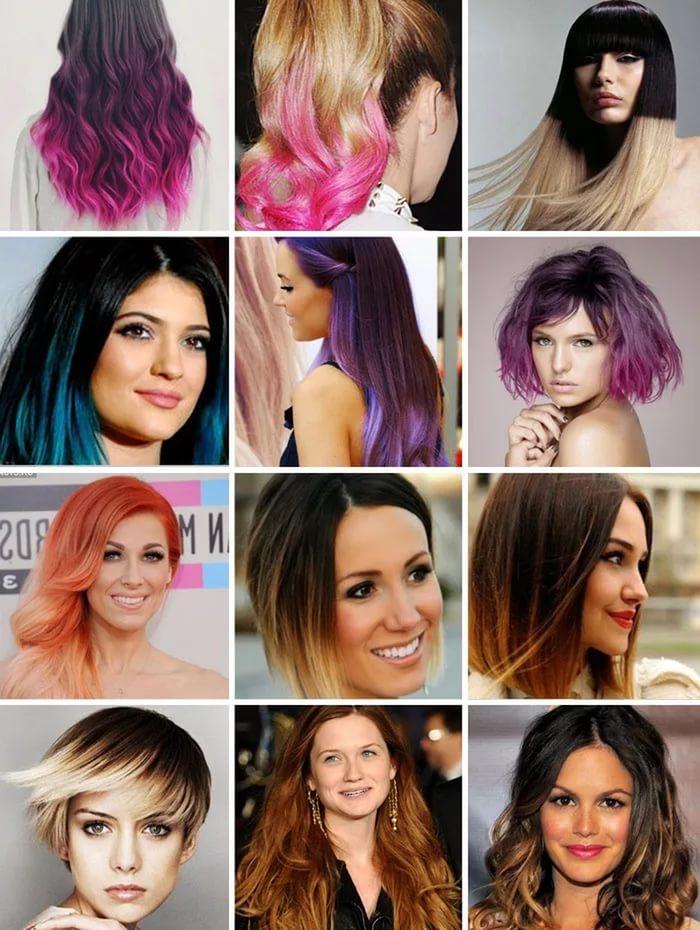 модное окрашивание 2017 на короткие волосы