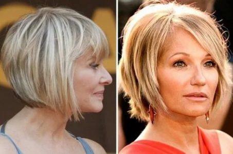 стрижки на короткие волосы для женщины 50 лет, 50+
