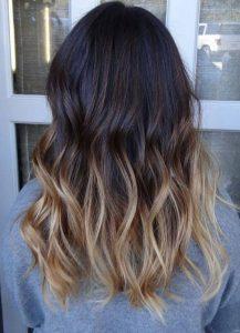 модное окрашивание волос 2017 на средние волосы (фото)
