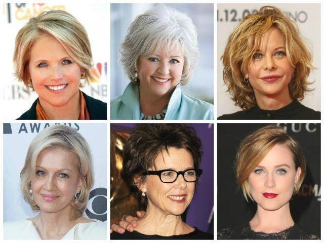 Короткие стрижки для женщин после 50 лет (фото), без укладки 2017