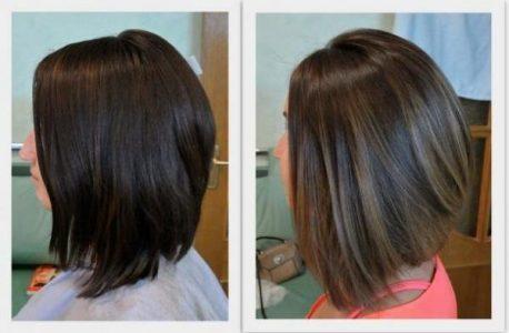 окрашивание шатуш на короткие волосы (фото)