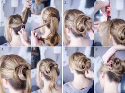 красивые прически на длинные волосы легко и быстро