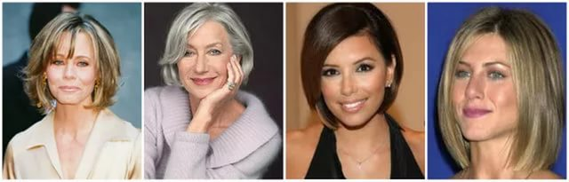 прически на короткие волосы для женщин 40 лет
