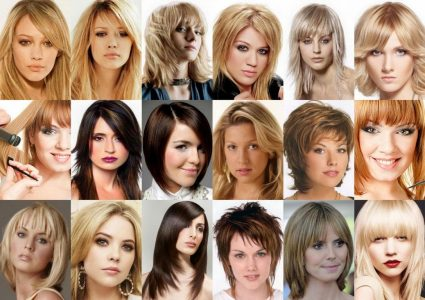 стрижки на волосы средней длины 2017 женские фото