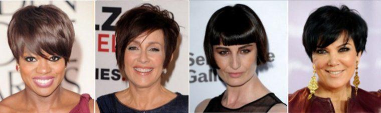 прически для женщин 50 лет на короткие волосы
