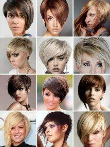 креативные стрижки на короткие волосы 2017 фото женские