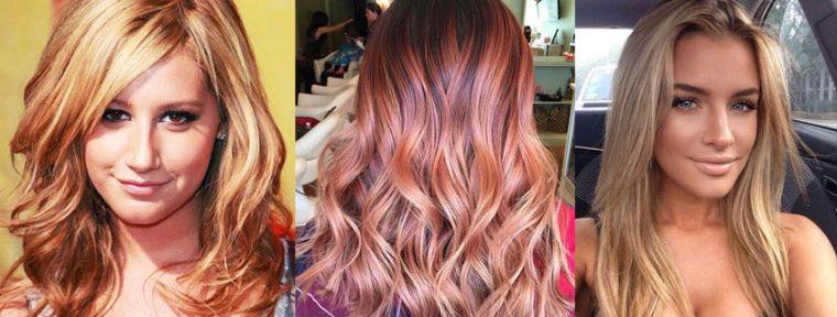 окраска волос 2017 фото - новинки на длинные волосы