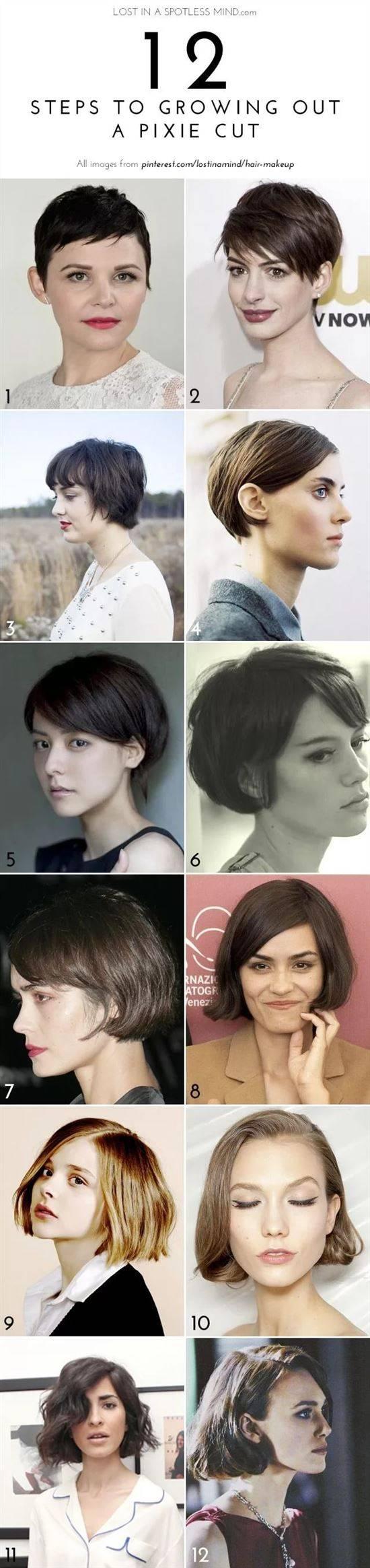 частных этапы отращивания волос фото луна черепа