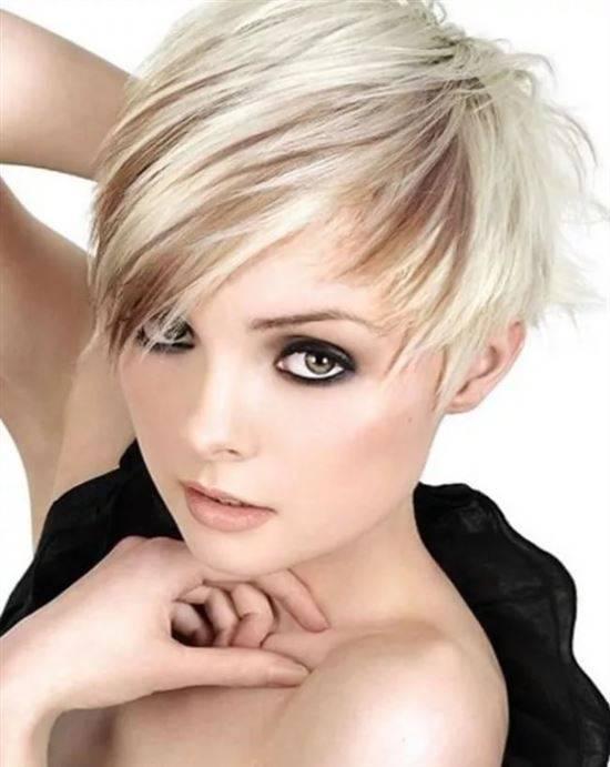стрижки на короткие редкие волосы фото