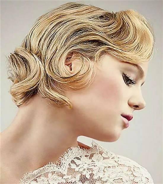 мышцы вечерние прически на короткие волосы фото женские съемках