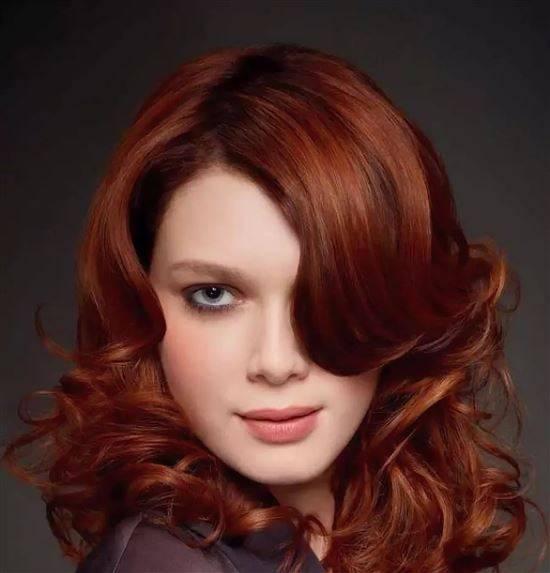 Темно медный цвет волос фото оттенки