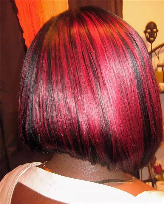 божией мелирование красных волос фото этой