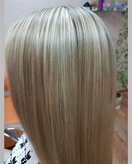 Натуральные цвета волос названия и фото