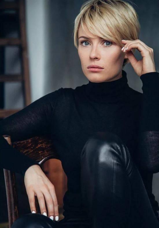 Фото актрис с короткой стрижкой