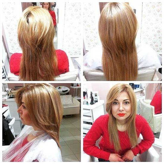 эффект нарощенных волос фото на длинные волосы красота, радующие