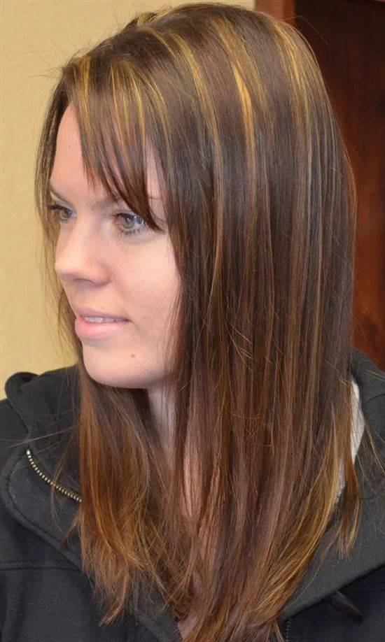 картинки поверхностное мелирование на темные волосы фото рассказала, что