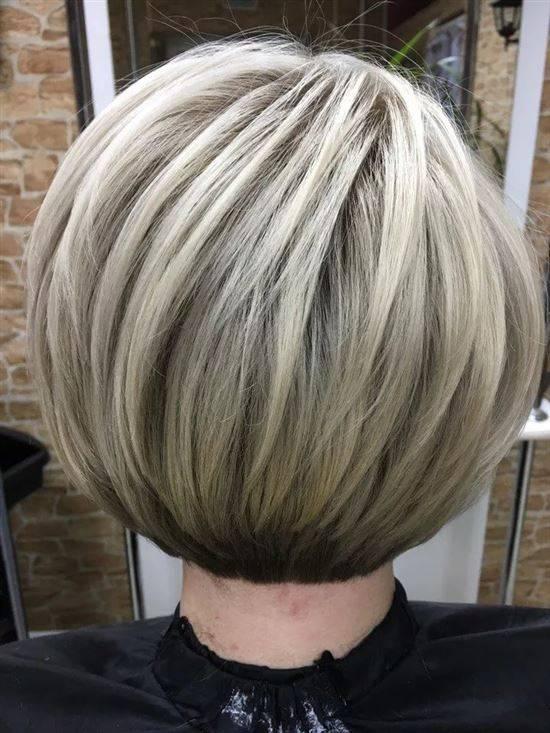Модное мелирование волос на короткие волосы фото