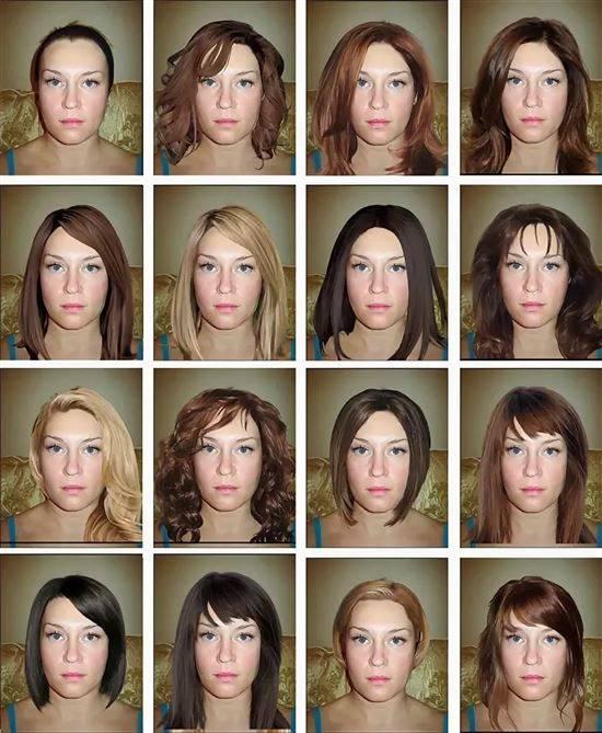 как подставить к фото другой цвет волос метрику можно сделать